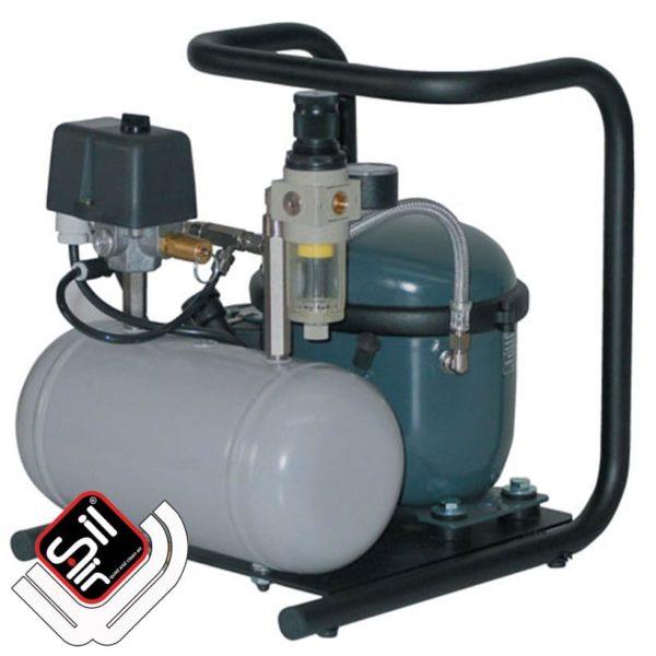 Sil-Air 30-TC-Flüsterkompressor-tragbar ölbetrieben