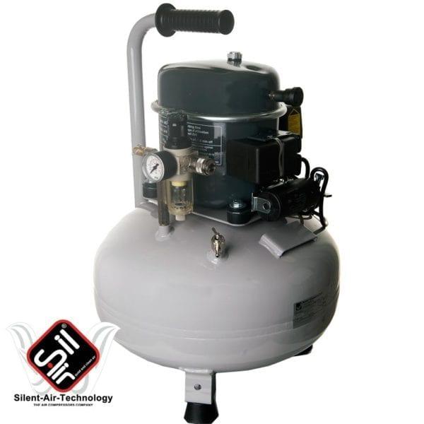 Kolbenkompressor flüsterleise mit Drucklufttank