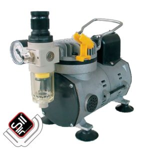 Sil-Air-Kompressor-mit Handbügel und Druckregler