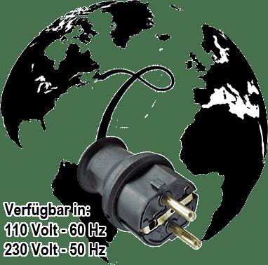 Kompressor in 110 Volt oder 230 Volt