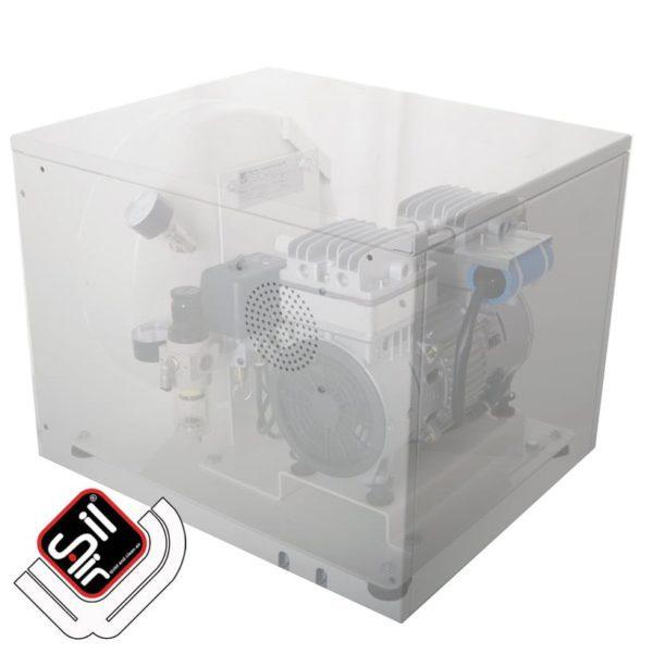 SilAir-CMD-Kompressor Schallschutzbox