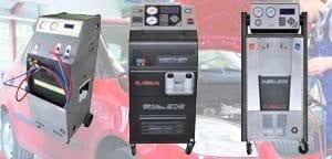 Klima Service Geräte für PKW Werkstatt und Industrie