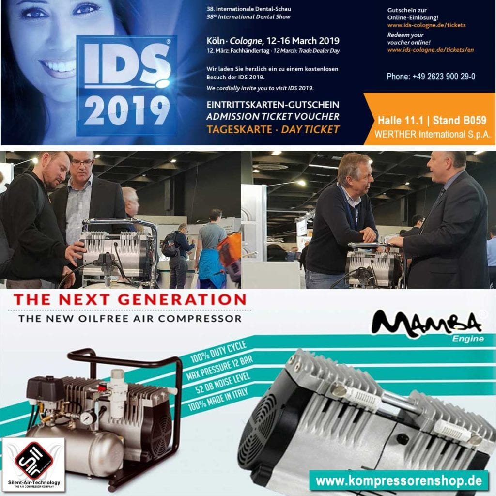 Neuvorstellung Dentalkompressor und Laborkompressor