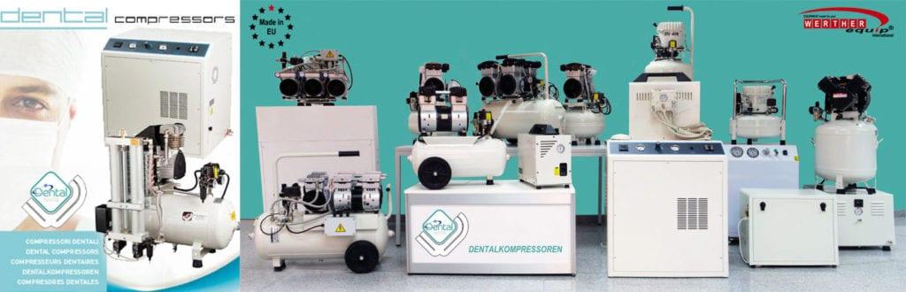 Dentalkompressoren und Laborkompressoren