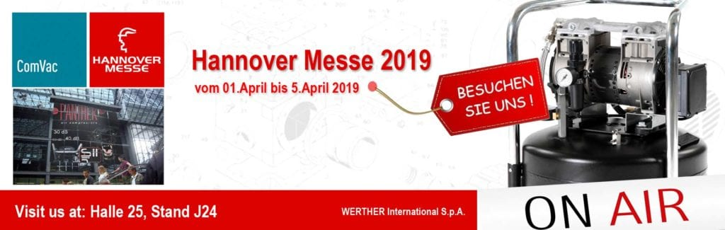 Hannovermesse 2019 Stand Halle 25 Stand J24