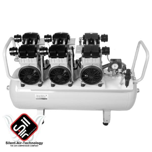 Sil-Air Dauerlaufkompressor mit 100 Liter Tank