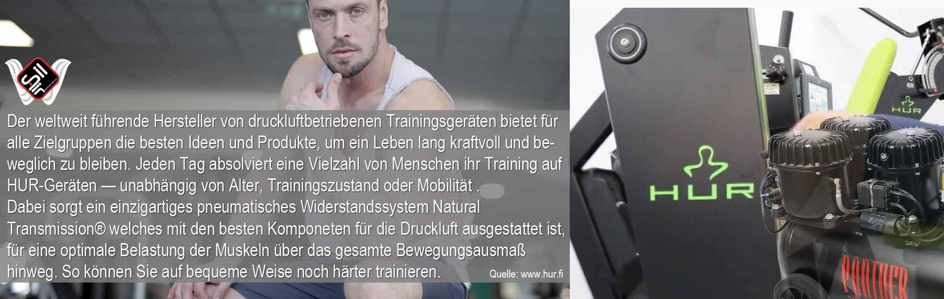 Kompressoren zum Betreiben von Hur Fitness Trainings Geräten